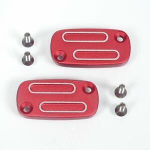 Paar Abdeckung Meister Zylinder Alu Rot TNT Peugeot Roller 50 Jungtaube
