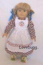 """Baking Dress for 18"""" American Girl Doll Pioneer Lovvbugg Widest Selection!"""
