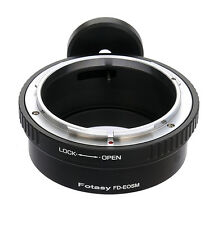 Canon FD Lens to CANON EOS M MIRRORLESS Camera M3 M6 M5 M10 Adapter Tripod