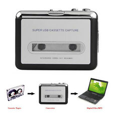 Tape to PC USB Cassette & MP3 /CD Converter Capture Digital Audio /Music Player
