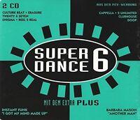Super Dance Plus 6 (1994) 2 Unlimited, Cappella, Erasure, The Free, Ins.. [2 CD]