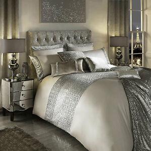 0Kylie Minogue MEZZANO PRALINE Bedding Range - Duvet / Quilt, Cushion or Runner