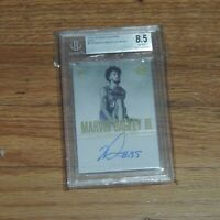 2018-19 Marvin Bagley III Rookie Card Auto Panini Encased BGS Beckett 8.5 #9/10