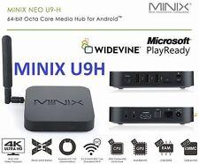 NEW 2017 MINIX NEO U9-H, 64-bit Octa-Core Media Hub for Android 2GB/16GB/4K/HDR
