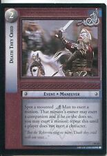 Lord Of The Rings CCG Card RotK 7.R223 Death They Cried