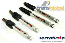 Front & Rear Shock Absorber Set for Mitsubishi L200 96-06 Terrafirma TF1400/01