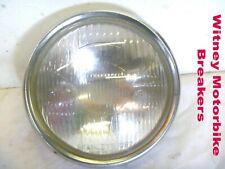 HONDA CG125 HEADLIGHT RIM LENS REFLECTOR HEADLAMP HEAD LIGHT LAMP CG 125 1979 6V