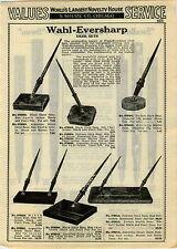 1931 ADVERTISEMENT Wahl Eversharp Fountain Pen Desk Sets Swallow Swan Mabie Todd