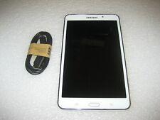 Samsung Galaxy Tab 4 NOOK SM-T230NU 8GB Wi-Fi 7in + 32GB microSD White Excellent