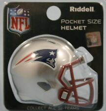 NFL American Football NEW ENGLAND PATRIOTS Riddell SPEED Pocket Pro Helmet