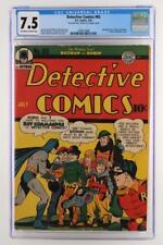 Detective Comics #65 - CGC 7.5 VF- DC 1942 -Batman- 2nd App of Boy Commandos!!!