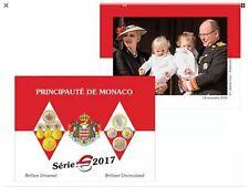 Monaco Coffret 8 Pièces BU 2017 - 8000 exemplaires