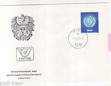 Österreich Nr.  1548  FDC  IAEA  Atome