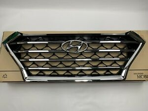New 2019-2020 Tucson Front Bumper Grille Upper OEM Hyundai Radiator Chrome Grill