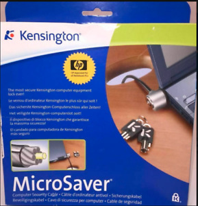 PC766A Microsaver - Cavo di sicurezza per computer
