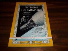1964 MARCH MAN ON MOON APOLLO NASA PRESIDENT KENNEDY FUNERAL NATIONAL GEOGRAPHIC