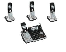 AT&T 2 Line Cordless Intercom Paging Dual Conference Phone System w 4 Handsets