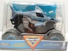 Megalodon (2020) Spin Master Monster Jam 1:24 Scale Die-cast Truck Blue New