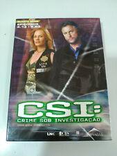 Csi Las Vegas Fourth Season Episodes 4.13-4.23 - 3 X DVD English Portuguese - 2T
