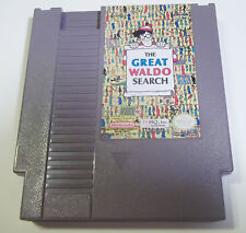 The Great Waldo Search (Nintendo) 1992 good condition THQ NES video game