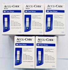 ACCU-CHEK Aviva Strisce reattive glicemia ~ 5 confezioni da 50 strisce ~ EXP DEC 2019