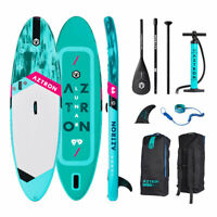 """Aztron LUNAR  9'9"""" Double Air Chamber Inflatable Stand Up Paddle SUP Board"""