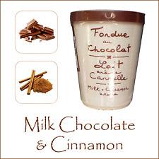 LUSSO Cioccolato Fonduta da AUX anysetiers du Roy-Cioccolato al Latte & Cannella
