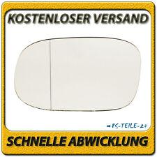 Spiegelglas für CHRYSLER VOYAGER IV EU 2001-2007 links Fahrerseite asphärisch