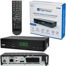 DVB-T2 FULL HD TV terrestrische Receiver Opticum Blue T90 HEVC H.265 USB HDMI