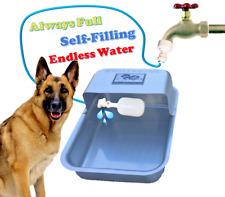 Automatic Pet Waterer Dog Animals Self Filling Water Bowl Dish Dog Waterer