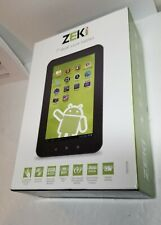 "ZEKI 7"" inch dual Core  Android Tablet 8gb memory"