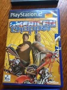 American Chopper, Playstation 2, PS2, complete, tested, good condition