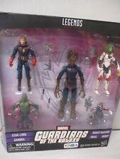 2016 Marvel Legends Series Guardians of the Galaxy Star-Lord, Gamora, Rocket