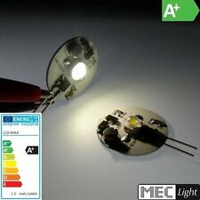 G4 LED zócalo pin - 1w high-power-led 80LM (DISCO) - Blanco cálido