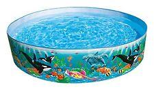 Original Intex Fun Garden Swimming Pool Kids Baby Summer Water Colorful Outdoor