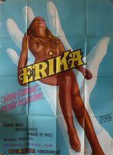 ERIKA THE PERFORMER French Grand movie poster 47x63SEXPLOITATION Patrizia Viotti