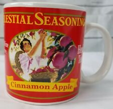 Vintage Celestial Seasonings Mug By Sakura 1995 Cinnamon Apple Herb Tea EUC Cute