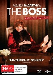 The Boss - Melissa McCarthy (DVD, 2016) NEW
