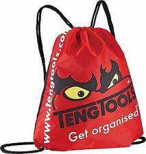 TENG TOOLS  DRAWSTRING BACKPACK CARRY BAG NYLON PU Size: 440 x 370mm