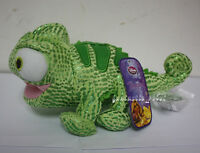 "Tangled 8"" Disney Green Pascal Stuffed Plush soft Doll Toy Chameleon Figure Gift"