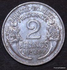 2  Francs MORLON  ALU 1948  fr54