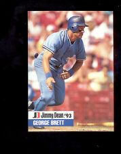 1993 JD GEORGE BRETT Kansas City Royals  Jimmy Dean Card Mint