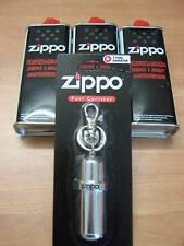 Zippo Power Kit - der Tank für unterwegs + 3 x Benzin