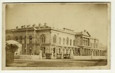 Antique CDV Architecture Photo France