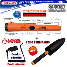 Pinpointer Pro Garrett Pro Pointer AT + Holster + Cordon Pro + Pelle à main Abs
