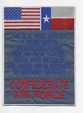CAF back patch (Texas flag variant)