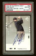 JESS DALEY RC 2002 SP Authentic Golf #93 EXTRA LIMITED Auto /25 PSA 10 #1669
