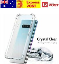 Case Cover For Samsung S10+ Plus Clear Soft Slim Anti-shock Bumper TPU Protector