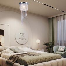 Crystal Chandelier Lighting Modern Ceiling Pendant Lamp Hanging Light Fixture