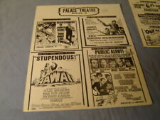 Vintage Palace Theatre Box Office Movie Ad You Only Live Twice Hawaii